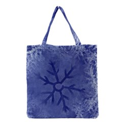 Winter Hardest Frost Cold Grocery Tote Bag by Sapixe
