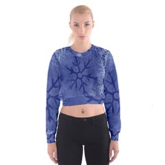 Winter Hardest Frost Cold Cropped Sweatshirt