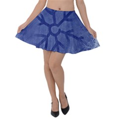 Winter Hardest Frost Cold Velvet Skater Skirt