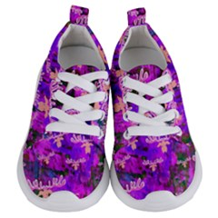 Watercolour Paint Dripping Ink Kids  Lightweight Sports Shoes