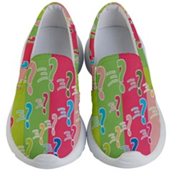 Question Mark Problems Clouds Kid s Lightweight Slip Ons