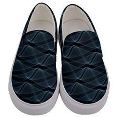 Desktop Pattern Vector Design Men s Canvas Slip Ons