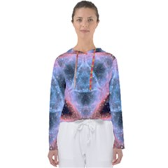 Sacred Geometry Mandelbrot Fractal Women s Slouchy Sweat