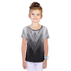 Feather Graphic Design Background Kids  One Piece Tee