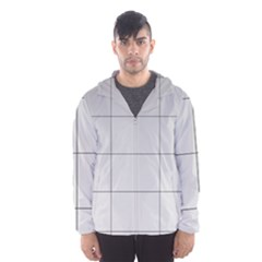 Abstract Architecture Contemporary Hooded Wind Breaker (men)