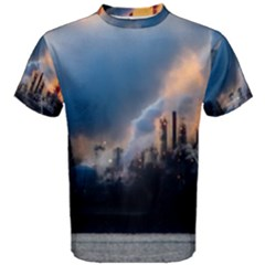 Warming Global Environment Nature Men s Cotton Tee