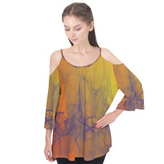 Fiesta Colorful Background Flutter Tees