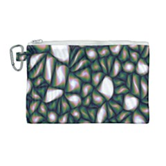 Fuzzy Abstract Art Urban Fragments Canvas Cosmetic Bag (large)