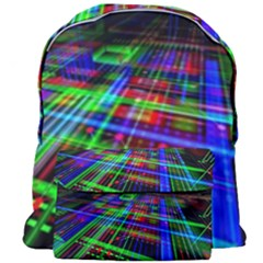 Electronics Board Computer Trace Giant Full Print Backpack by Sapixe
