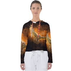 Art Creative Graphic Arts Owl Women s Slouchy Sweat