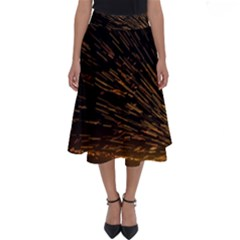 Metalworking Iron Radio Weld Metal Perfect Length Midi Skirt