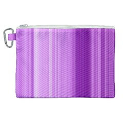 Background Texture Pattern Purple Canvas Cosmetic Bag (xl)