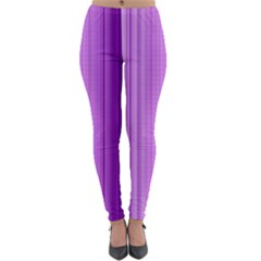 Background Texture Pattern Purple Lightweight Leggings by Sapixe