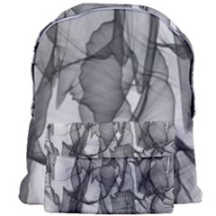 Abstract Black And White Background Giant Full Print Backpack