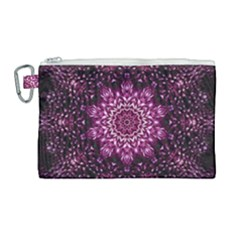 Background Abstract Texture Pattern Canvas Cosmetic Bag (large) by Sapixe