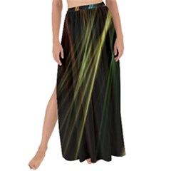 Lines Rays Background Light Maxi Chiffon Tie Up Sarong
