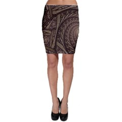 Abstract Pattern Graphics Bodycon Skirt