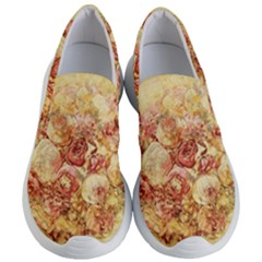 Vintage Digital Graphics Flower Women s Lightweight Slip Ons by Sapixe