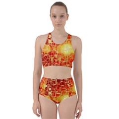 Board Conductors Circuits Racer Back Bikini Set