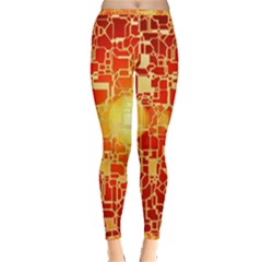 Board Conductors Circuits Inside Out Leggings