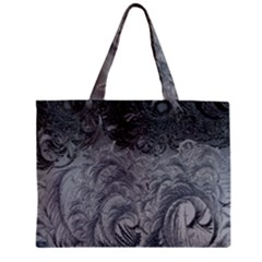 Abstract Art Decoration Design Zipper Mini Tote Bag