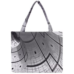 Graphic Design Background Mini Tote Bag by Sapixe