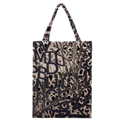 Pattern Design Texture Wallpaper Classic Tote Bag