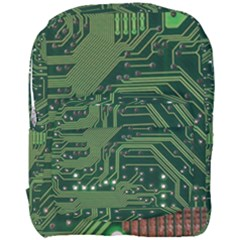 Board Computer Chip Data Processing Full Print Backpack by Sapixe