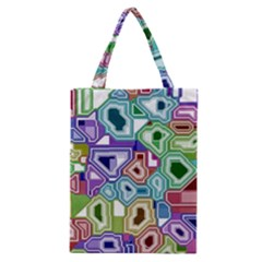 Board Interfaces Digital Global Classic Tote Bag by Sapixe