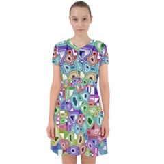 Board Interfaces Digital Global Adorable In Chiffon Dress by Sapixe