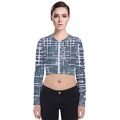 Board Circuit Control Center Bomber Jacket