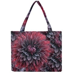 Flower Fractals Pattern Design Creative Mini Tote Bag by Sapixe