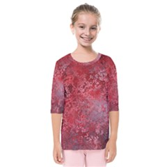 Background Texture Structure Kids  Quarter Sleeve Raglan Tee by Sapixe