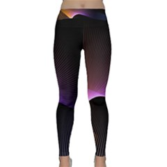 Star Graphic Rays Movement Pattern Classic Yoga Leggings