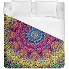 Background Fractals Surreal Design Duvet Cover (king Size) by Sapixe