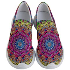 Background Fractals Surreal Design Women s Lightweight Slip Ons by Sapixe