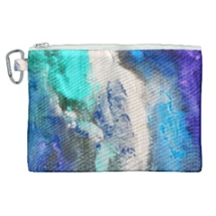Blue Sensations Canvas Cosmetic Bag (xl)