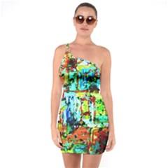 Birds   Caged And Free One Soulder Bodycon Dress by bestdesignintheworld