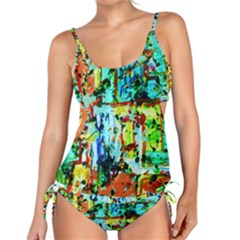 Birds   Caged And Free Tankini Set
