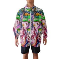 Budha Denied The Shine Of The World Wind Breaker (kids) by bestdesignintheworld
