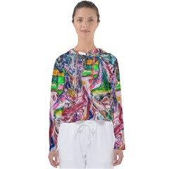 Budha Denied The Shine Of The World Women s Slouchy Sweat