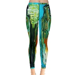 Ceramics Of Ancient Land 2 Inside Out Leggings
