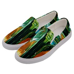 Ceramics Of Ancient Land 2 Men s Canvas Slip Ons by bestdesignintheworld