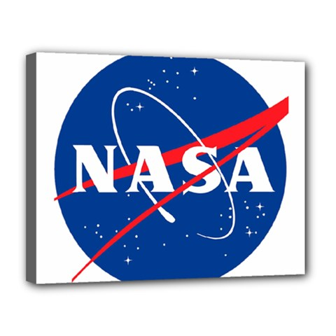 Nasa Logo Canvas 14  X 11  by Samandel