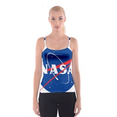 Nasa Logo Spaghetti Strap Top by Samandel