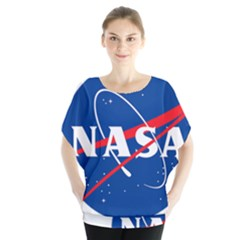 Nasa Logo Blouse by Samandel