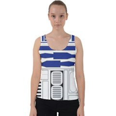 R2 Series Astromech Droid Velvet Tank Top