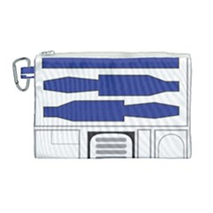 R2 Series Astromech Droid Canvas Cosmetic Bag (large)