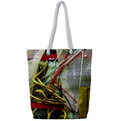 Hidden Strings Of Purity 15 Full Print Rope Handle Tote (small)