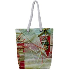 Hidden Strings Of Purity 1 Full Print Rope Handle Tote (small) by bestdesignintheworld